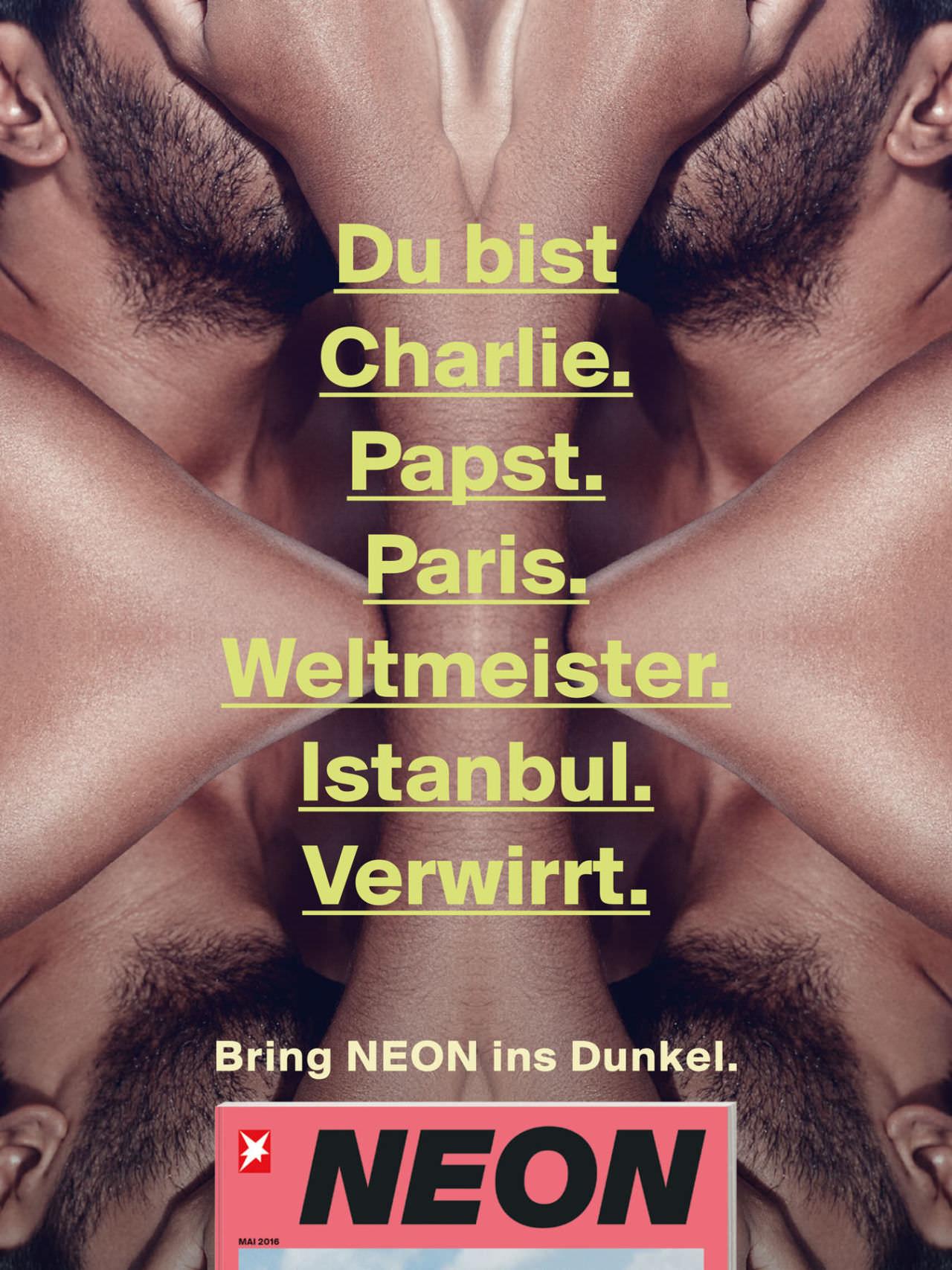 DAVID DAUB / HAMBURG GUJ / BRING NEON IN'S DUNKEL