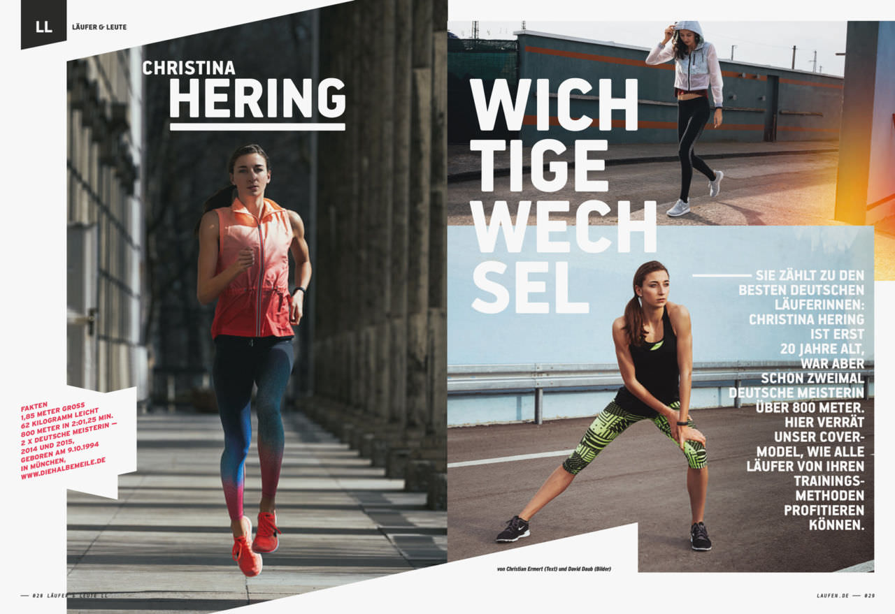 DAVID DAUB / HAMBURG NIKE / RUNNING '14 – '18